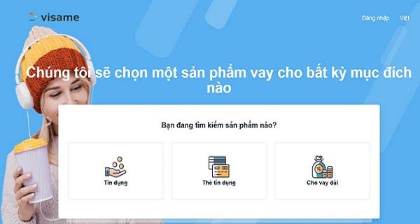 Visame – Vay tiền online 15 triệu đồng lãi suất còn 0%