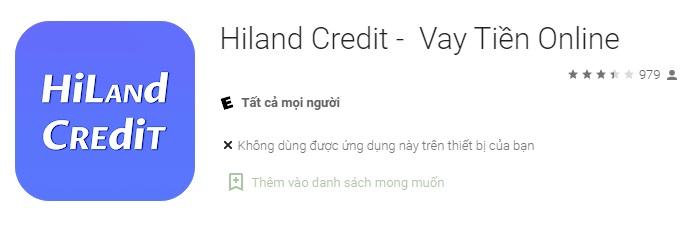 hiland credit