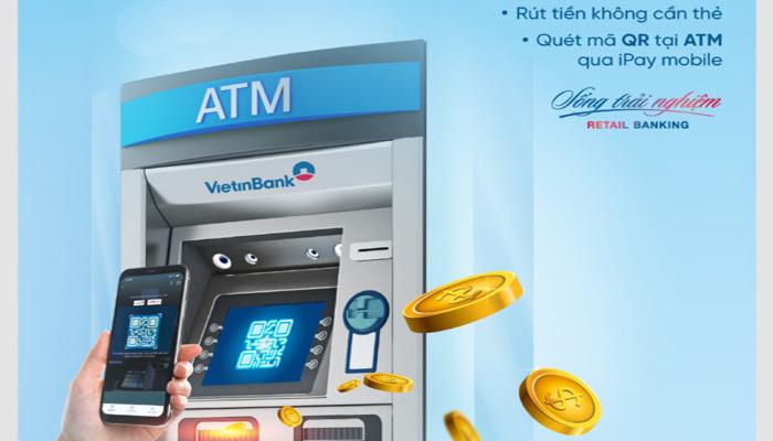 cách Rút tiền không cần thẻ